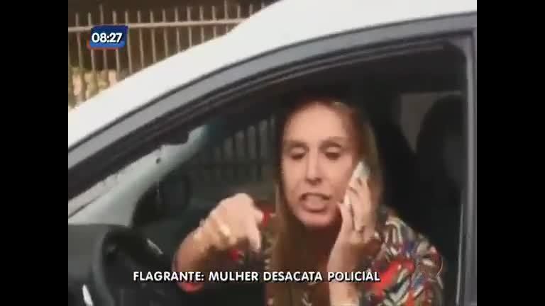 Mulher é autuada por crime de desacato no Recreio dos Bandeirantes