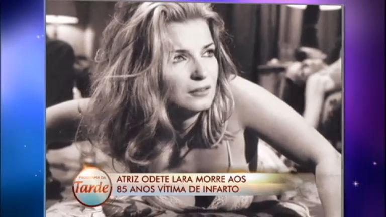 Diário das Celebridades: Morre, aos 83 anos, a atriz Odete Lara ...