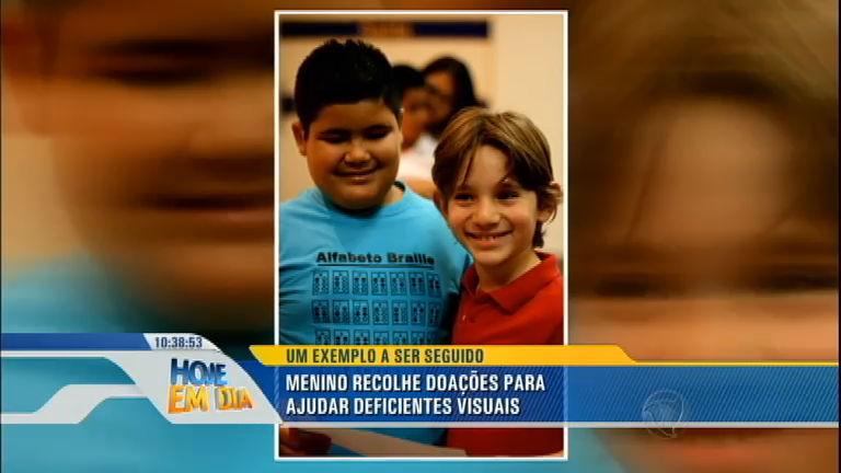 Bom exemplo: Menino de 8 anos faz campanha para ajudar ...