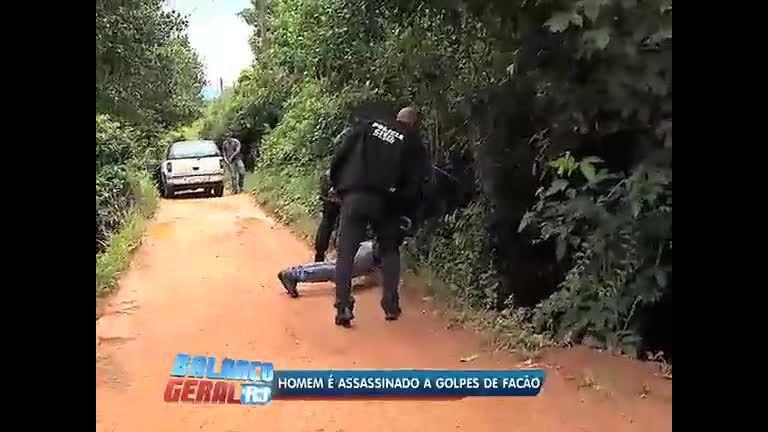 Homem é assassinado a golpes de facão em Queimados (RJ) - Rio ...