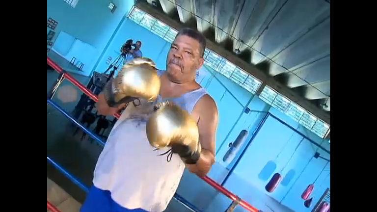 Luta pela vida: Geraldo Luís visita o ex- pugilista Maguila neste ...