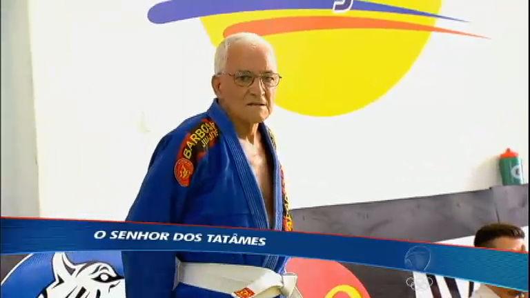 Vovô do tatame: Com 87 anos seu Gerardo retorna aos tatames ...