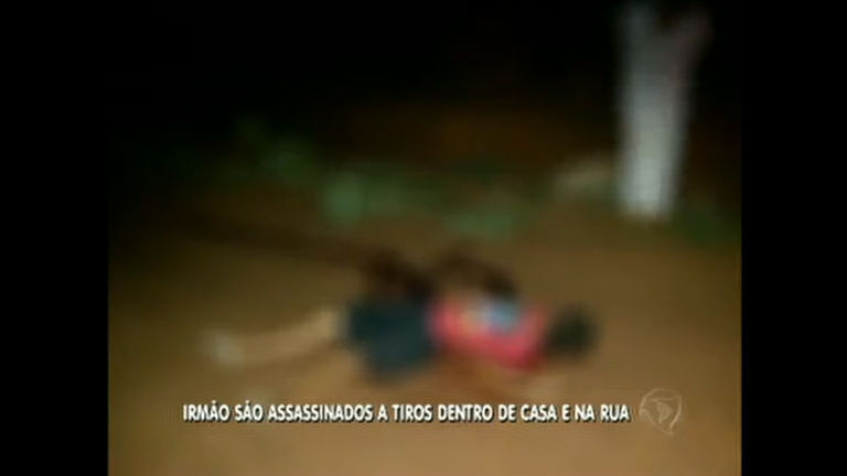Irmãos são assassinados a tiros na Cidade Ocidental