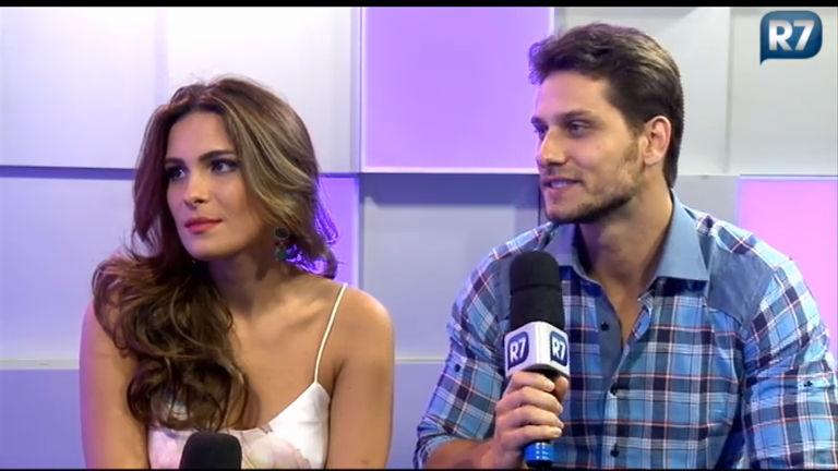 Eliéser Ambrósio e Kamilla Salgado falam do relacionamento e ...