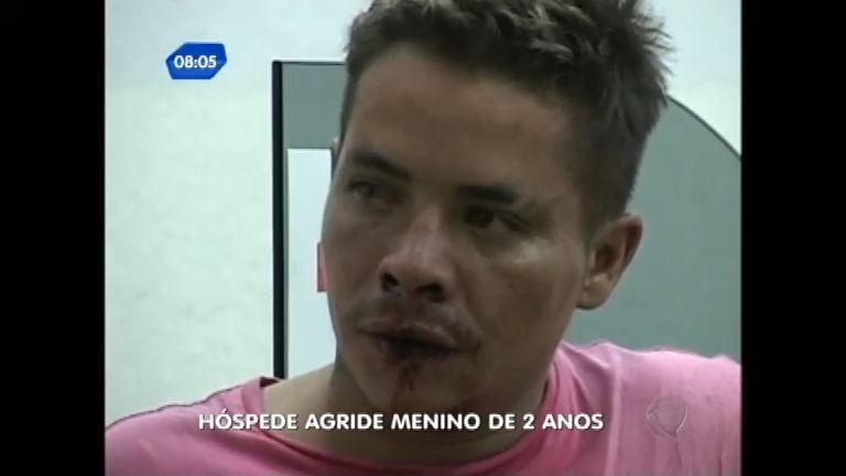 Hóspede de pensão é acusado de agredir menino de dois anos em ...