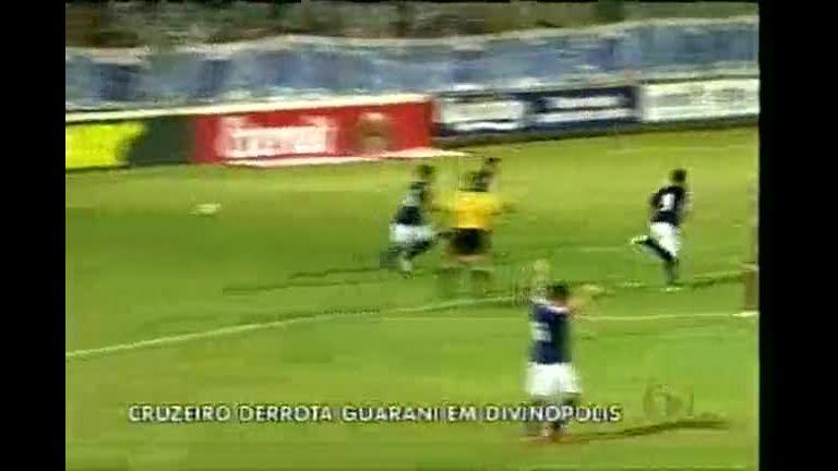 Cruzeiro derrota o Guarani em Divinópolis (MG) - Minas Gerais - R7 ...