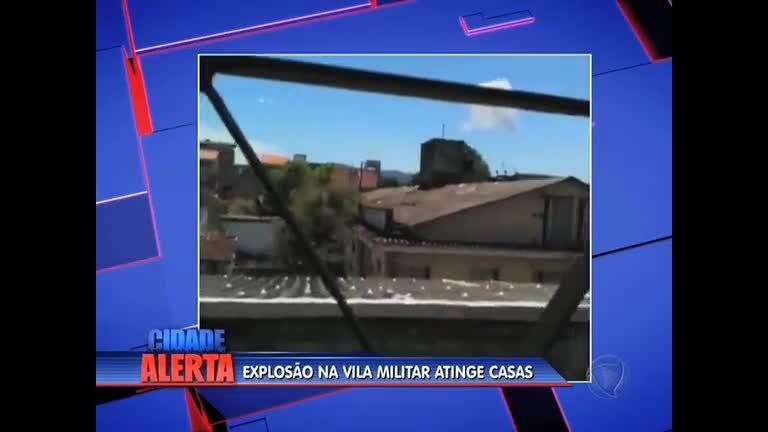 Explosão na Vila Militar atinge casas em Deodoro (RJ) - Rio de ...