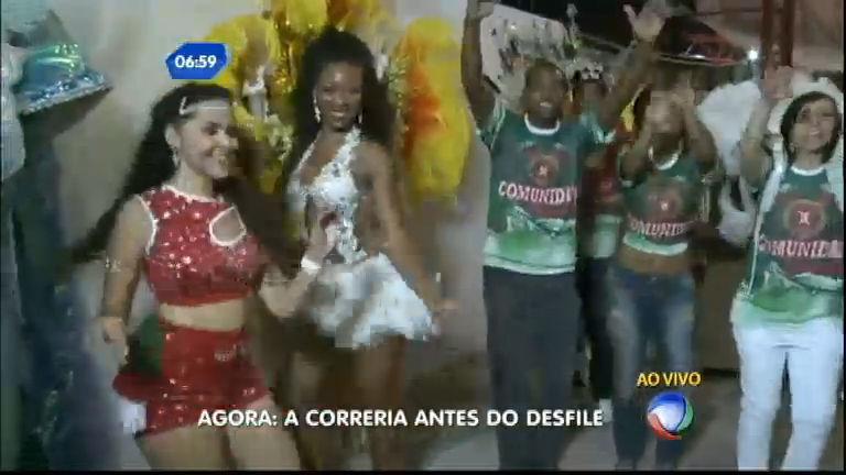 X- 9 Paulistana mostra como está se preparando para o Carnaval ...