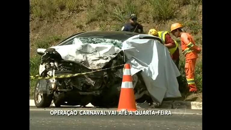 Operação Carnaval registra grave acidente na BR 040 - Distrito ...