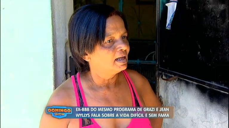 BBB que deixou programa após AVC leva vida difícil na Baixada ...
