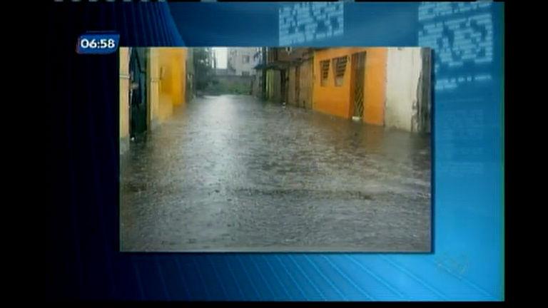 Chuva forte em Feira de Santana - Bahia - R7 Balanço Geral BA