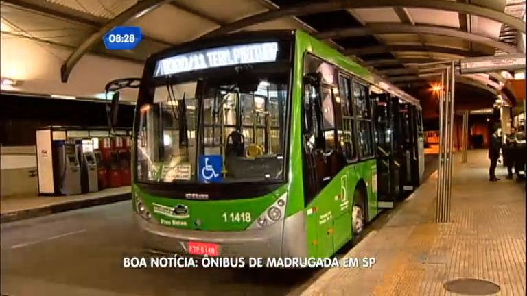 Ônibus circularão de madrugada a partir deste sábado (28 ...
