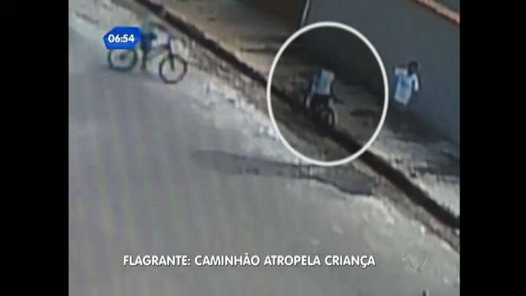 Menino de cinco anos morre atropelado por caminhão em Pouso ...