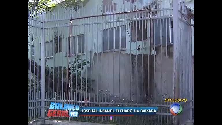 Hospital infantil está abandonado em São João de Meriti (RJ) - Rio ...