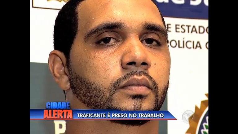 Traficante da Rocinha é preso trabalhando na Cadeg em Benfica (RJ)