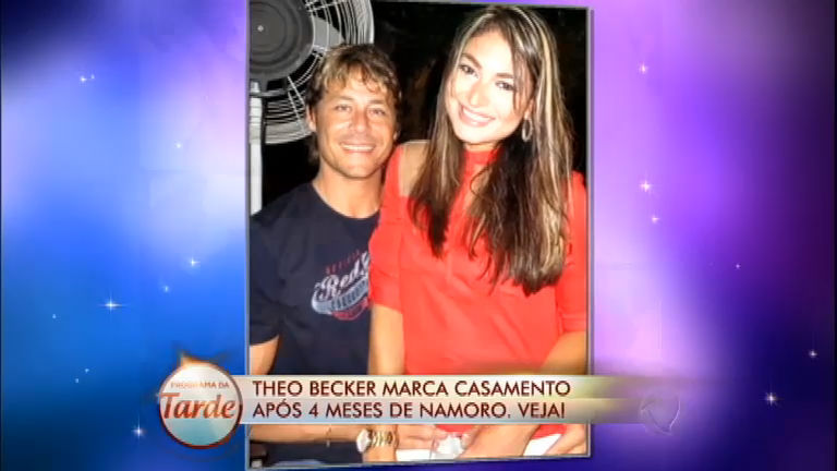 Diário das Celebridades: Theo Becker anuncia casamento com a ...