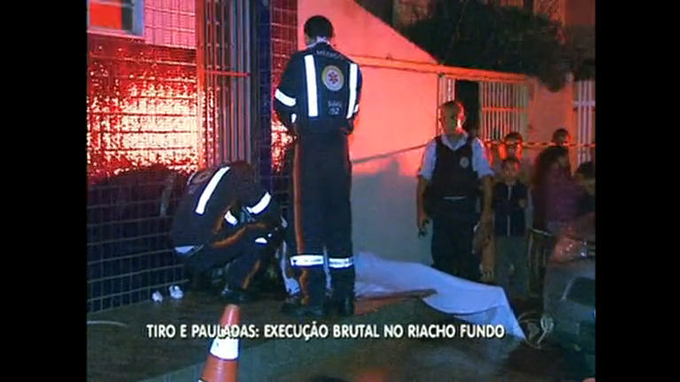 Homem é morto a tiros e pauladas no Distrito Federal - Distrito ...