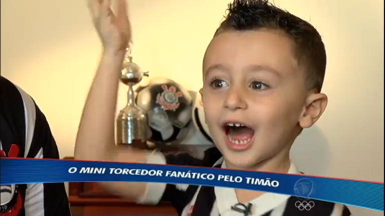 Torcedor mirim do Corinthians realiza sonho e conhece Emerson ...