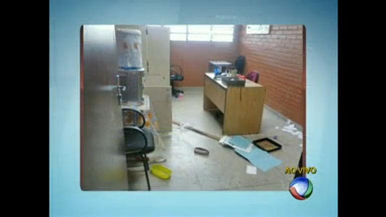 Escola do Entorno do DF é depredada por vândalos - Distrito ...