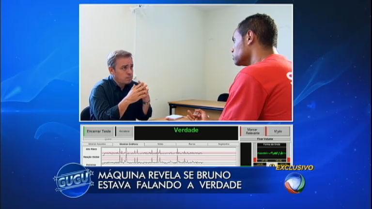 Máquina revela se goleiro Bruno falou a verdade durante entrevista ...