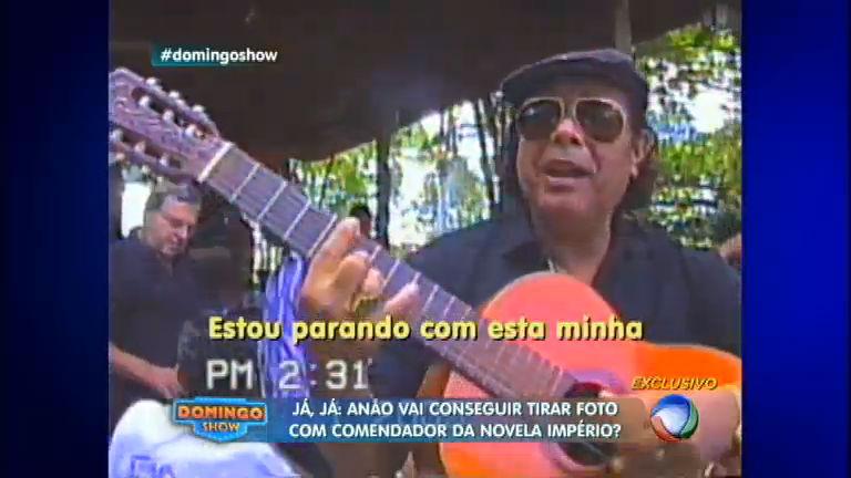Tom de despedida: Domingo Show revela música inédita de José ...