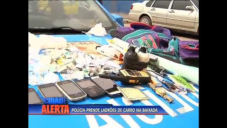 Polícia prende ladrões de carro na Baixada Fluminense - Rio de ...