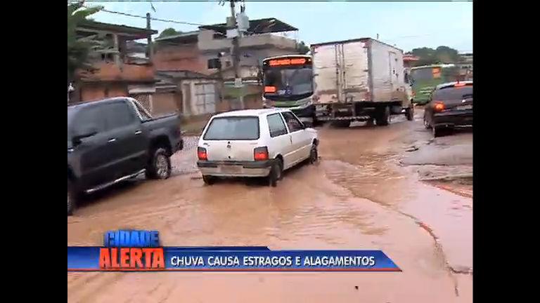 Chuva causa estragos na Baixada Fluminense - Rio de Janeiro - R7 ...