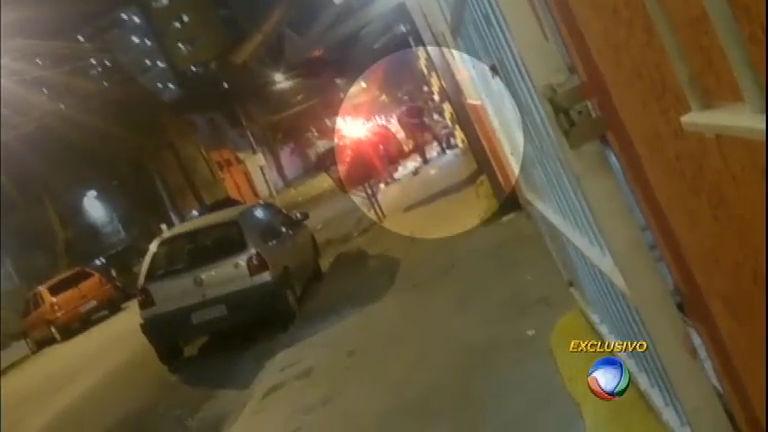 Imagens mostram violência policial em repreensão a baile funk em SP