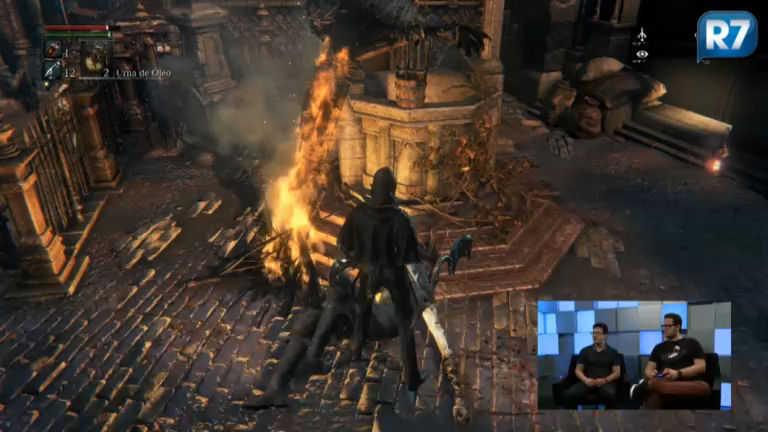 Massacre! R7 Jogos apanhou muito de Bloodborne, o jogo mais ...