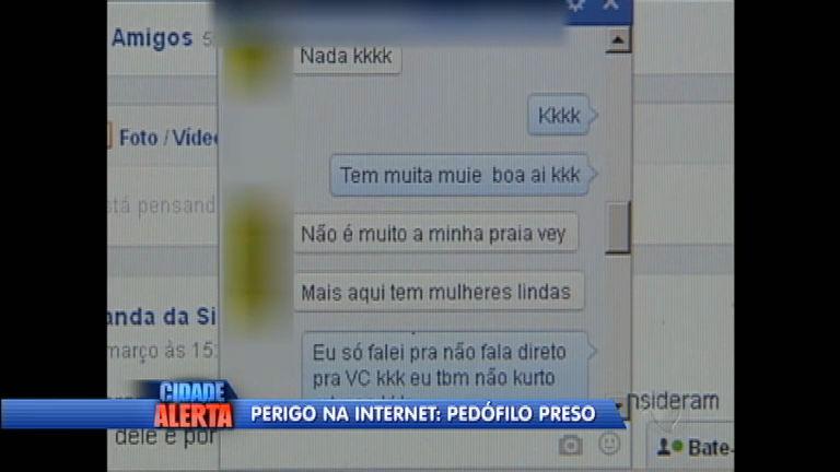 Pedófilo virtual é preso após denúncia da mãe de um dos ...