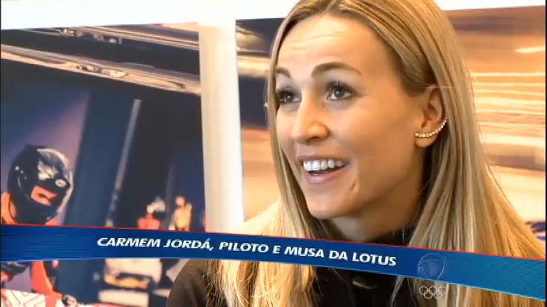 Conheça a espanhola Carmem Jordá, nova piloto de testes da Lotus