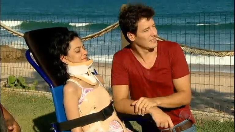 Na Bahia, Rodrigo Faro realiza sonho de tetraplégica de voltar a ver ...