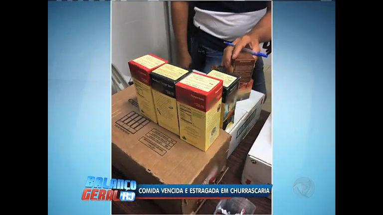 Alimentos vencidos há sete meses são confiscados em churrascaria ...