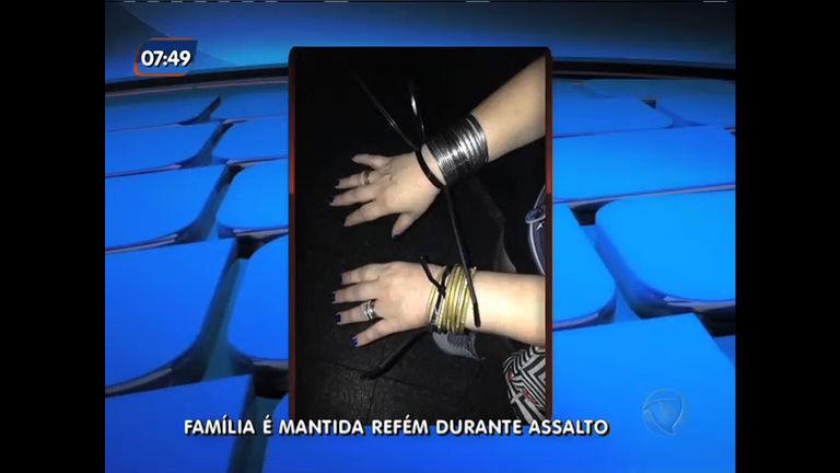Família é mantida refém durante assalto em Santa Teresa ( RJ) - Rio ...