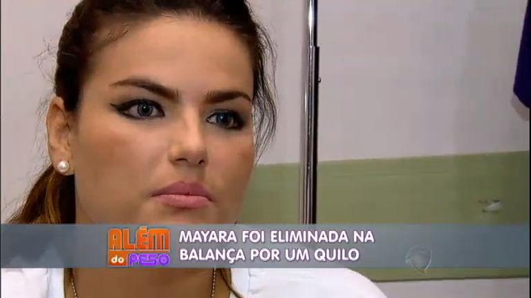 Além do Peso: por 1 kg a mais na balança, Mayara é eliminada do ...