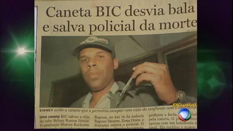 Eu Sobrevivi: caneta no bolso salva policial de tiro no peito em São ...
