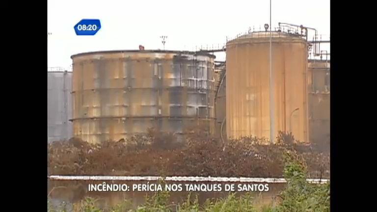 Peritos investigam a causa do incêndio em Santos (SP) - Notícias ...