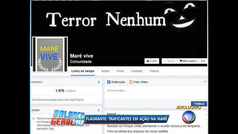 Página falsa em rede social denuncia ação de traficantes no ...