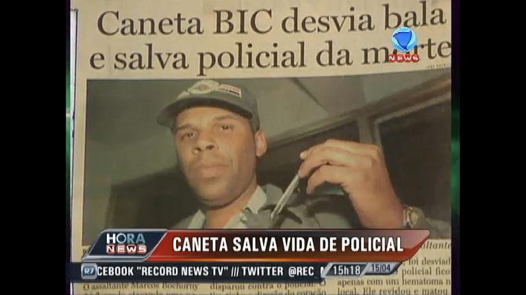 Caneta no bolso de policial salva a sua vida - Record News - R7 ...