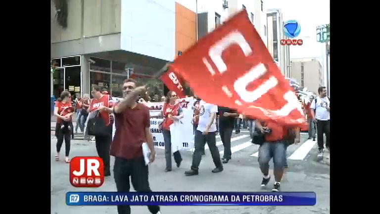 Protestos contra a terceirização tomam as ruas de Santa Catarina ...