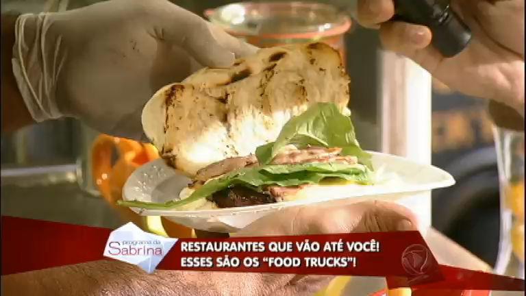 De dar água na boca: com pratos saborosos, food trucks invadem o ...