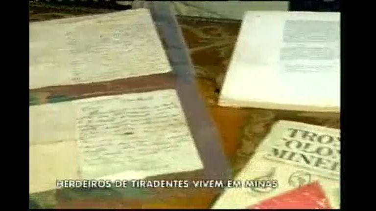 Parentes de Tiradentes vivem no sul de Minas - Minas Gerais - R7 ...