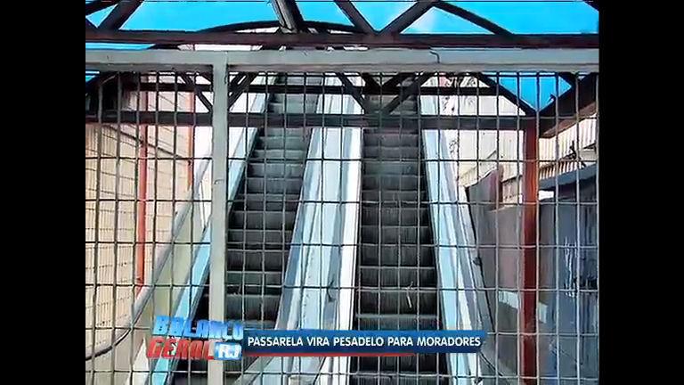 Escada rolante desativada prejudica moradores de Madureira - Rio ...