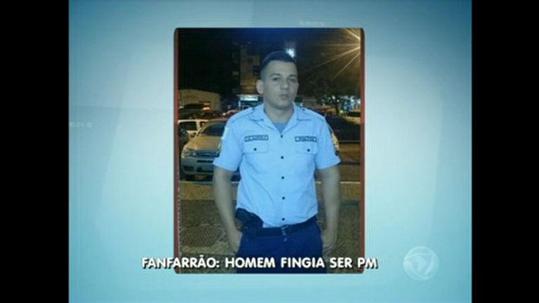 Falso PM é preso por falsidade ideológica - Distrito Federal - R7 ...
