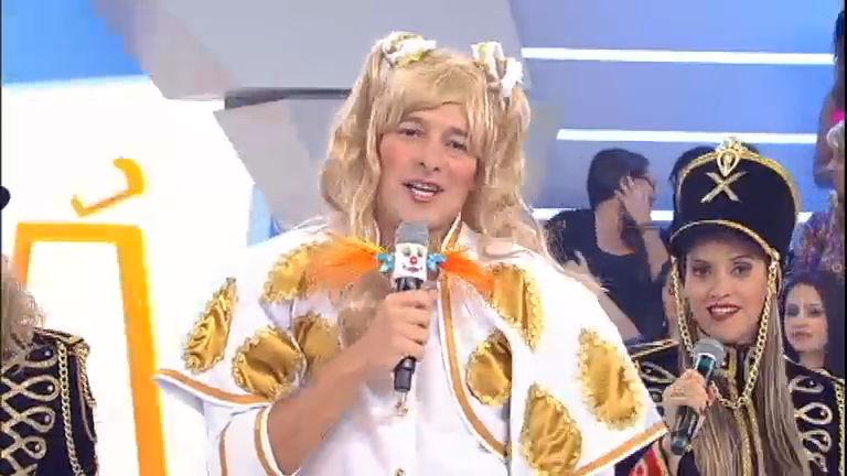 Dança, gatinho! Rodrigo Faro se transforma na Xuxa com direito à ...