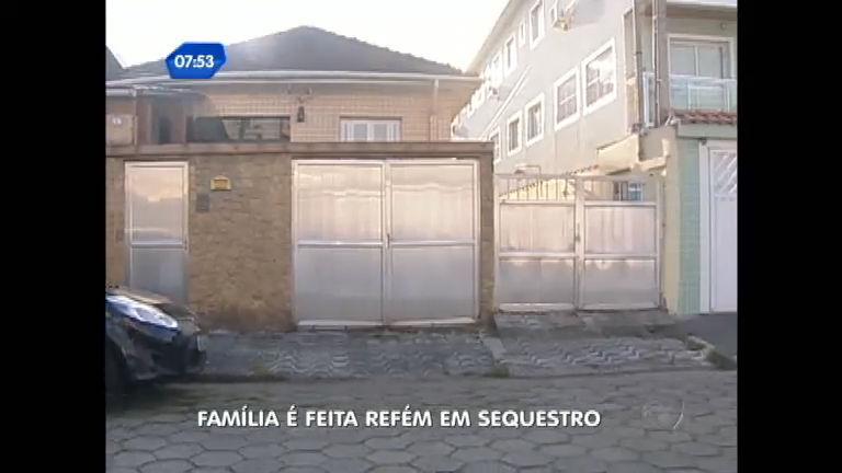 Bandidos invadem casa e fazem família refém em São Vicente ( SP ...