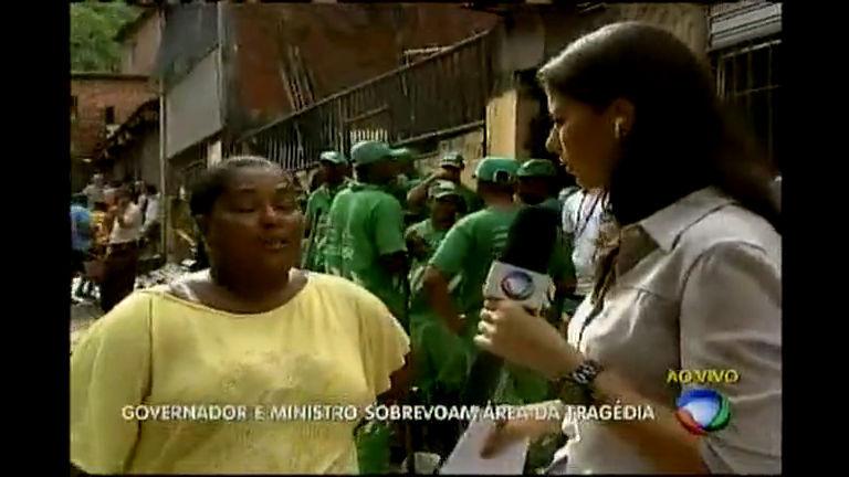 Sobrevivente fala de momentos de tensão - Bahia - R7 Bahia no Ar