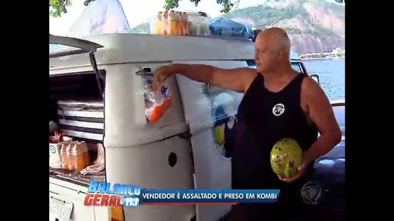 Vendedor de coco é assaltado e preso dentro do próprio carro no ...