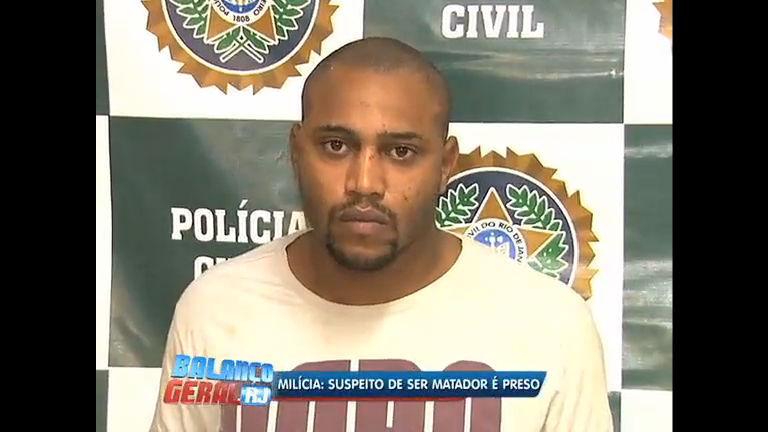 """Polícia prende """"matador"""" suspeito de envolvimento com a milícia na ..."""
