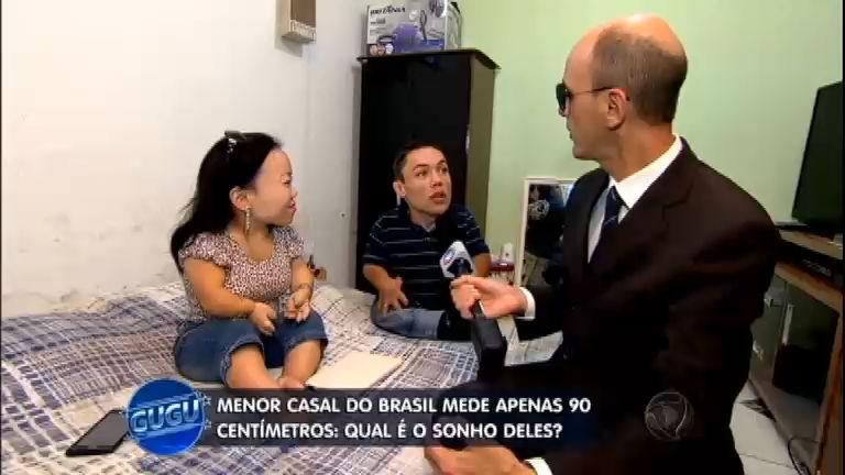 90 cm de amor: conheça a rotina do menor casal do Brasil ...